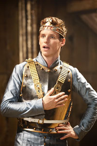 Eddie Redmayne in Richard II