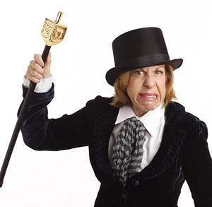 Jackie Hoffman in a promotional photo forA Chanukah Charol