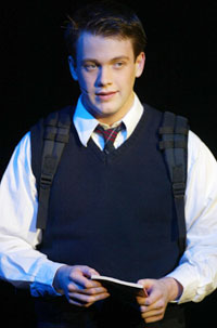 Michael Arden in bare(Photo © Joan Marcus)