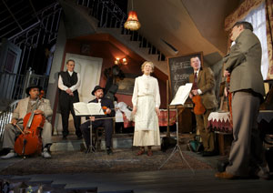 Clive Rowe, Peter Capaldi, Ben Miller, Marcia Warren,