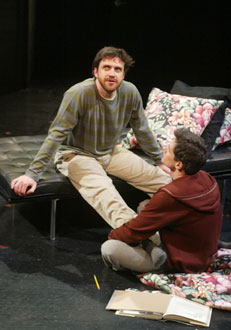 Raúl Esparza and Billy Warlockin The Normal Heart(Photo © Carol Rosegg)