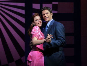 Jessie Mueller and Harry Connick, Jr.