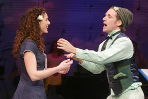 Melissa Errico and Malcom Gets in Finian's Rainbow(Photo © Carol Rosegg)