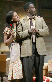 Audra McDonald and Sean Combs inA Raisin in the Sun(Photo © Joan Marcus)