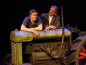 Richard Pryal and John Walters in Farm Boy