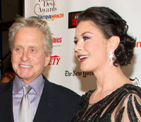 Michael Douglas and