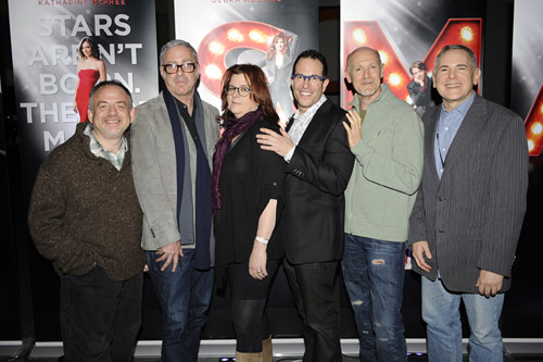 Marc Shaiman, Scott Wittman, Theresa Rebeck, Michael Mayer, Neil Meron and Craig Zadan 