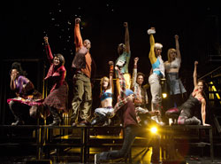 A scene from Rent (© Joan Marcus)