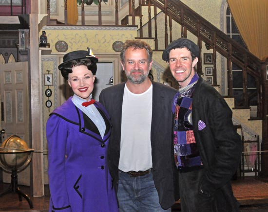 Steffanie Leigh, Hugh Bonneville, and Gavin Lee