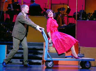 Daniel Jenkins and Karen Ziemba in Bye Bye Birdie(Photo © Joan Marcus)