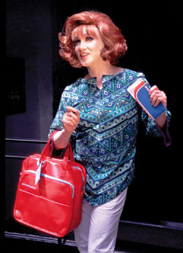 Charles Busch will play Auntie Mamethis summer at the Bay Street Theatre in Sag Harborand the Ogunquit Playhouse in Maine(Photo © Alex Kirzhner)