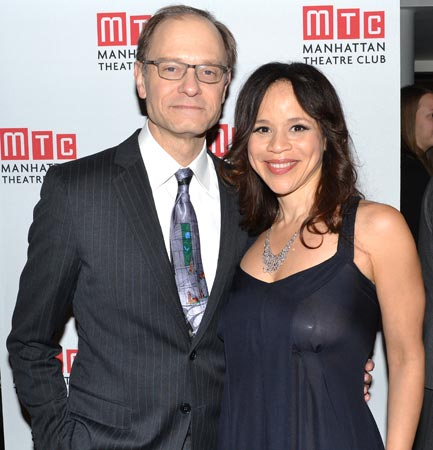 David Hyde Pierce and Rosie Perez