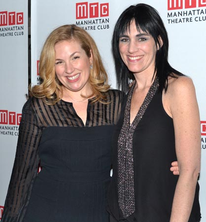 Molly Smith Metzler and Leigh Silverman