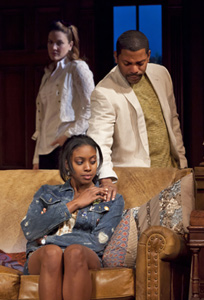 Rosie Benton, Condola Rashadand Mekhi Phifer in Stick Fly