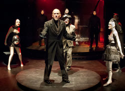 Peter B. Schmitz (center) and company
