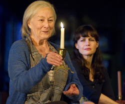 Rosemary Harris and Carla GuginoinThe Road to Mecca