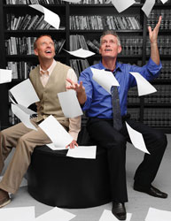 Kevin Hansen and Steven Meerdink in The Story of My Life (© Laurie Etchen)