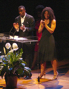 Sean Combs and Audra McDonald(Photo © Alex Kirzhner)