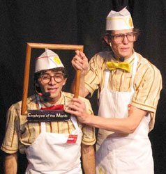 Charlie LaGreca and Paul Ashleyin Minimum Wage(Photo © D. Velez)