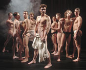 Cast of Naked Boys Singing!