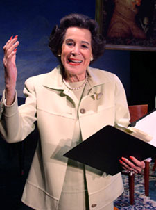 Kitty Carlisle Hart in Tasting Memories(Photo © David Rodgers)