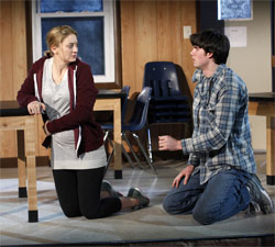 Heidi Schreck and Justin Kruger