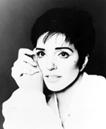 Liza Minnelli, touring with Minnelli onMinnelli, currently at the KennedyCenter in Washington, D.C.