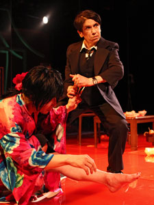 Hideki Noda and Kathryn Hunter