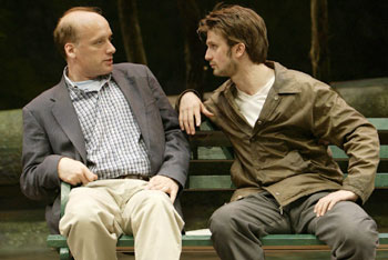 Frank Wood and Frederick Weller in Peter and Jerry(Photo © T. Charles Erickson)