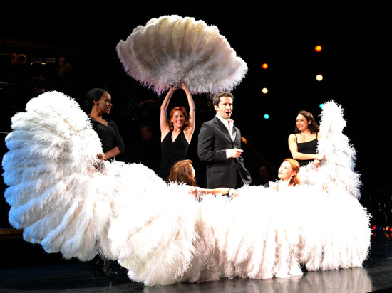 Marco Zunino and company perform a number from Chicago the Musical