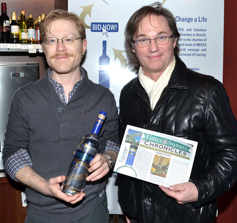 Anthony Rapp and Richard Thomas