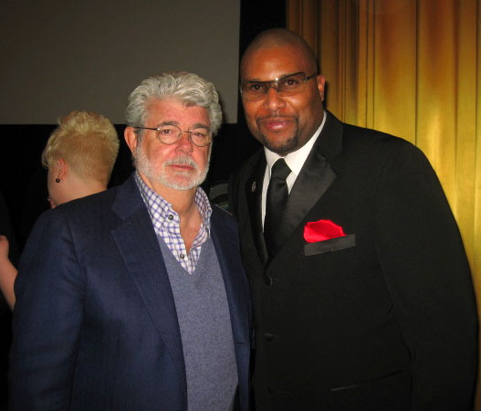 George Lucas and Layon Gray