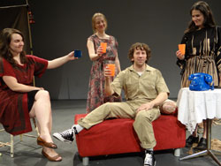 Tatiana Pavela, Meghan Williams, Scott Weber,