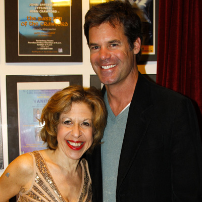 Jackie Hoffman and Tuc Watkins