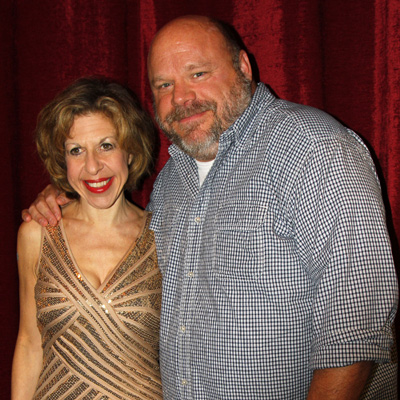 Jackie Hoffman and Kevin Chamberlin