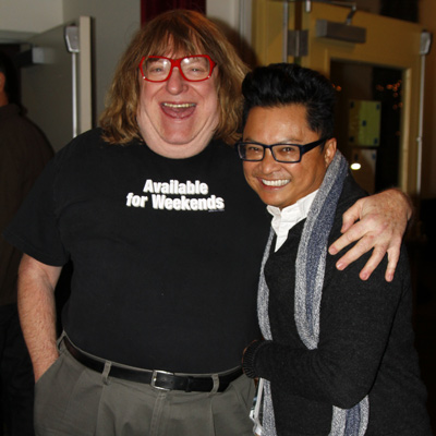 Bruce Vilanch and Alec Mapa