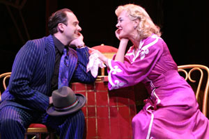 Michael Mastro and Karen Ziemba in Guys and Dolls(Photo © Gerry Goodstein)