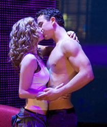 Caissie Levy and Richard Fleeshman