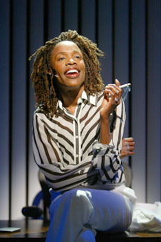 Charlayne Woodard in Fabulation(Photo © Joan Marcus)