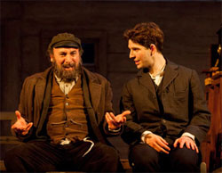 Antony Sher and Damien Molony in Travelling Light (© Johan Persson)