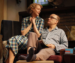 Christina Kirk and Frank Wood in