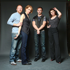 Hunter Bell, Susan Blackwell, Jeff Bowen
