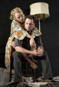 Sarah Goldberg and Matthew Rhys