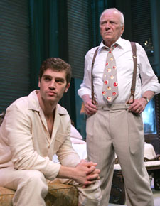 Jeremy Davidson and George Grizzardin Cat on a Hot Tin Roof(Photo © Joan Marcus)