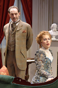 Dominic Cuskern and Karron Graves