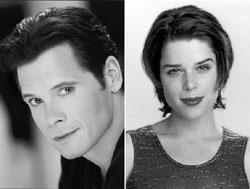 Michael Hayden and Neve Campbell