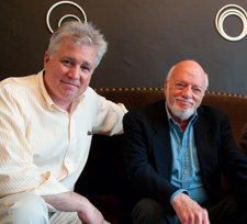 David Thompson and Hal Prince