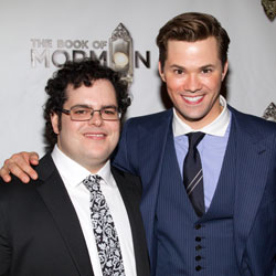 Josh Gad and Andrew Rannells