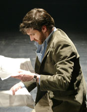Raúl Esparza in The Normal Heart(Photo © Carol Rosegg)