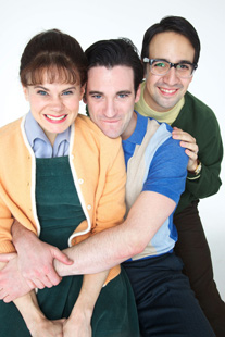 Celia Keenan-Bolger, Colin Donnell, and Lin-Minuel Miranda